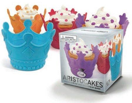 Moldes para cupcakes con forma de corona