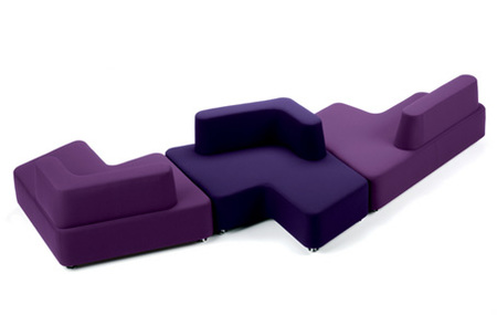 Sofá puzzle, combina sus piezas