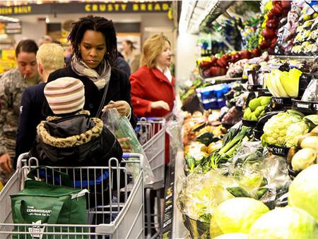 Comprando saludable