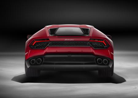 Lamborghini Huracan LP 580-2 Back Red