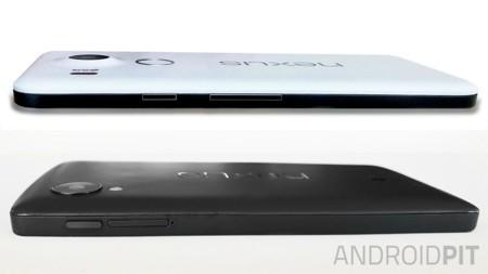 Androidpit Nexus 5 2015 Side View Comparison W782