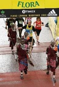 El diario de los guerreros Masai en Londres