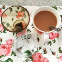 Y del té con leche