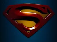 El logo de Superman returns