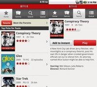 Netflix 1.4 compatible con todos los dispositivos Android 2.2 y 2.3