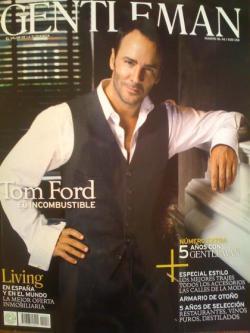 Tom Ford portada de Gentleman
