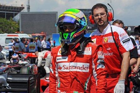 Ferrari confirma a Felipe Massa hasta 2012