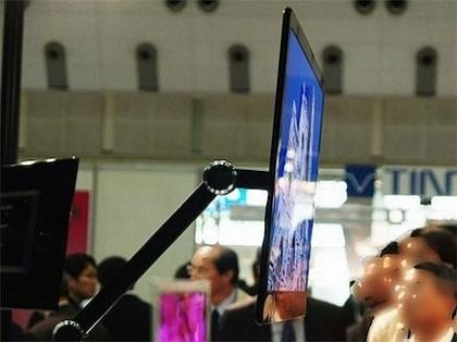 [Display Expo 2007] Pantallas OLED de Sony de 3 y 9 milímetros de grosor