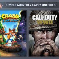 Call of Duty WWII junto con las trilogías de Crash y Spyro (y más juegos por anunciar) por menos de 11 euros en el último Humble Monthly