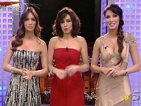 Los looks de Sara Carbonero, Pilar Rubio, Marta Fernández y Anne Igartiburu en las campanadas de fin de año