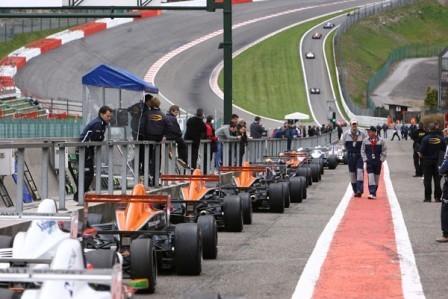 La Eurocup Formula Renault 2.0 comenzó en Spa con sorpresas