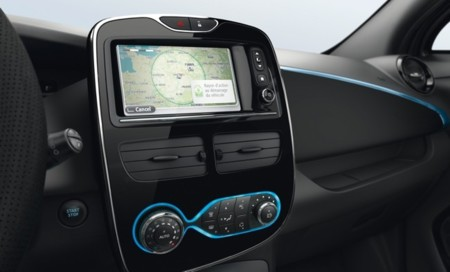 Renault ZOE GPS