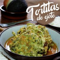 Tortitas de ejote. Receta en video