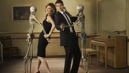 'Bones' renueva en FOX, once temporadas con Booth y Brennan