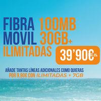 Lemonvil mejora sus combinados de fibra y móvil: ahora, más baratos y con una línea adicional por 9,90 euros más al mes