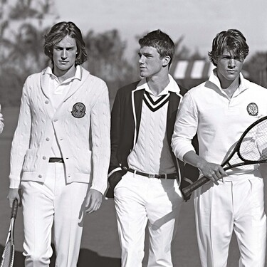 El próximo abierto de Australia tendrá aires preppy con los nuevos uniformes de Ralph Lauren