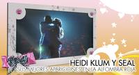 Heidi Klum y Seal, una historia de amor en la alfombra roja