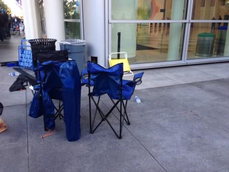 Sillas para esperar la WWDC15