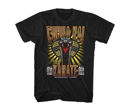 Dar cera, pulir cera: 19 camisetas para los fans de Karate Kid y Cobra Kai