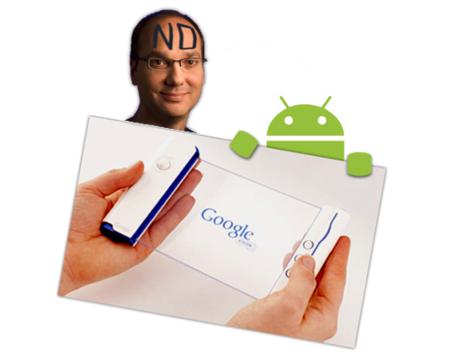Andy Rubin aclara que de teléfono Google nada de nada