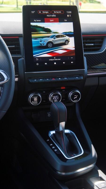 Renault Arkana 2021 pantalla