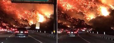 """""""Highway to hell"""", literalmente: la autovía de California que parece dirigirse a Mordor"""