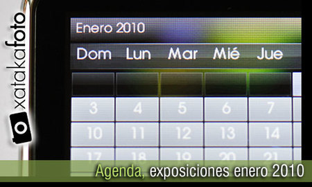 Agenda: exposiciones de fotografía, enero 2010