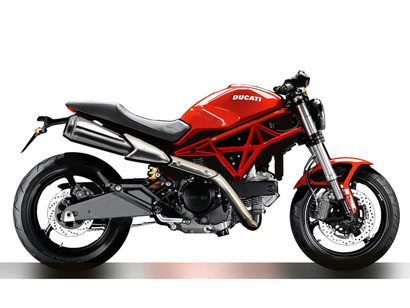 Ducati Monster 695 ¿será asi?