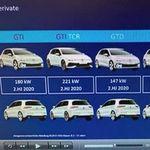 ¡Filtrado! Ya se sabe qué potencia tendrán los Volkswagen Golf GTI, GTD y R