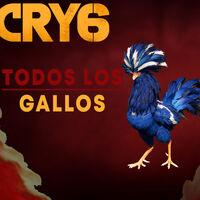 Todas las ubicaciones de los gallos en Far Cry 6