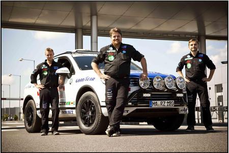 Rainer Zietlow quiere batir el récord por carretera entre Noruega y Sudáfrica