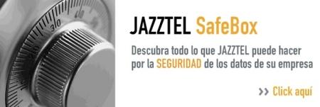 Jazztel Safebox, servicio de copia de seguridad remoto