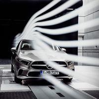 El futuro Mercedes-Benz Clase A sedán llegará a finales de 2018... y ya alardea de eficiencia aerodinámica