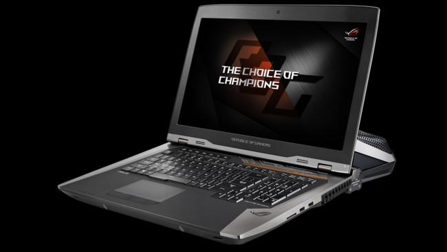 Este portátil de ASUS es un monstruo: 18 pulgadas con resolución 4K y dos gráficas Nvidia GTX 1080