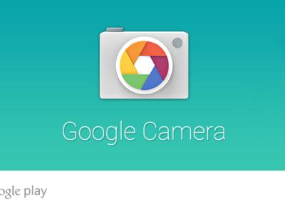 Google Camera se actualiza oficialmente en la Play Store