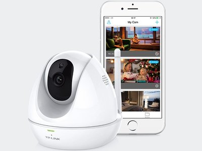 TP-Link NC450, una cámara de vigilancia rotatoria para controlar tu vivienda a distancia