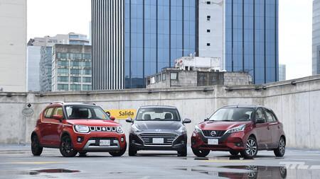 Nissan March vs. Suzuki Ignis vs. Hyundai Grand i10, comparativa: urbanos automáticos a duelo