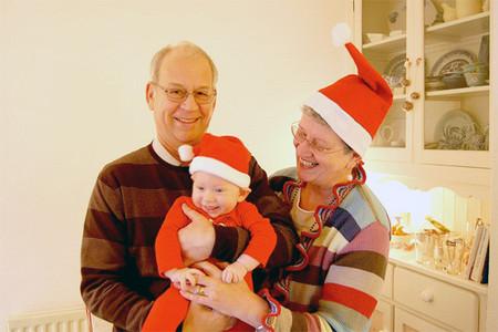 La foto de tu bebé: disfrazado de Papá Noel