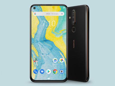 Nokia X71, el nuevo gama media también se apunta a la pantalla agujereada