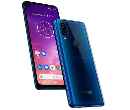 """Motorola One Vision: nuevas imágenes """"confirman"""" su diseño con agujero en pantalla y cámara de 48 megapixeles"""