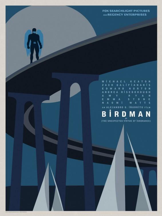 Foto de 'Birdman (o la inesperada virtud de la ignorancia)', carteles (8/15)