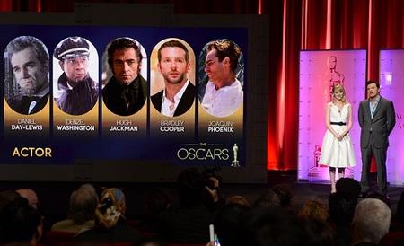 Los mejores actores de 2012