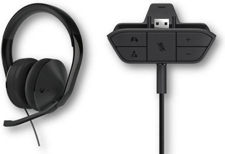 Nuevos auriculares y adaptador para auriculares de camino a Xbox One
