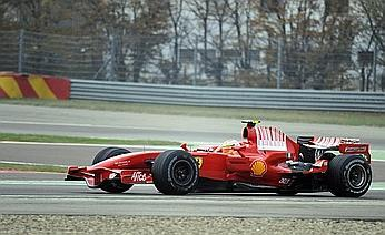 El Ferrari F2008K completa sus primeras vueltas
