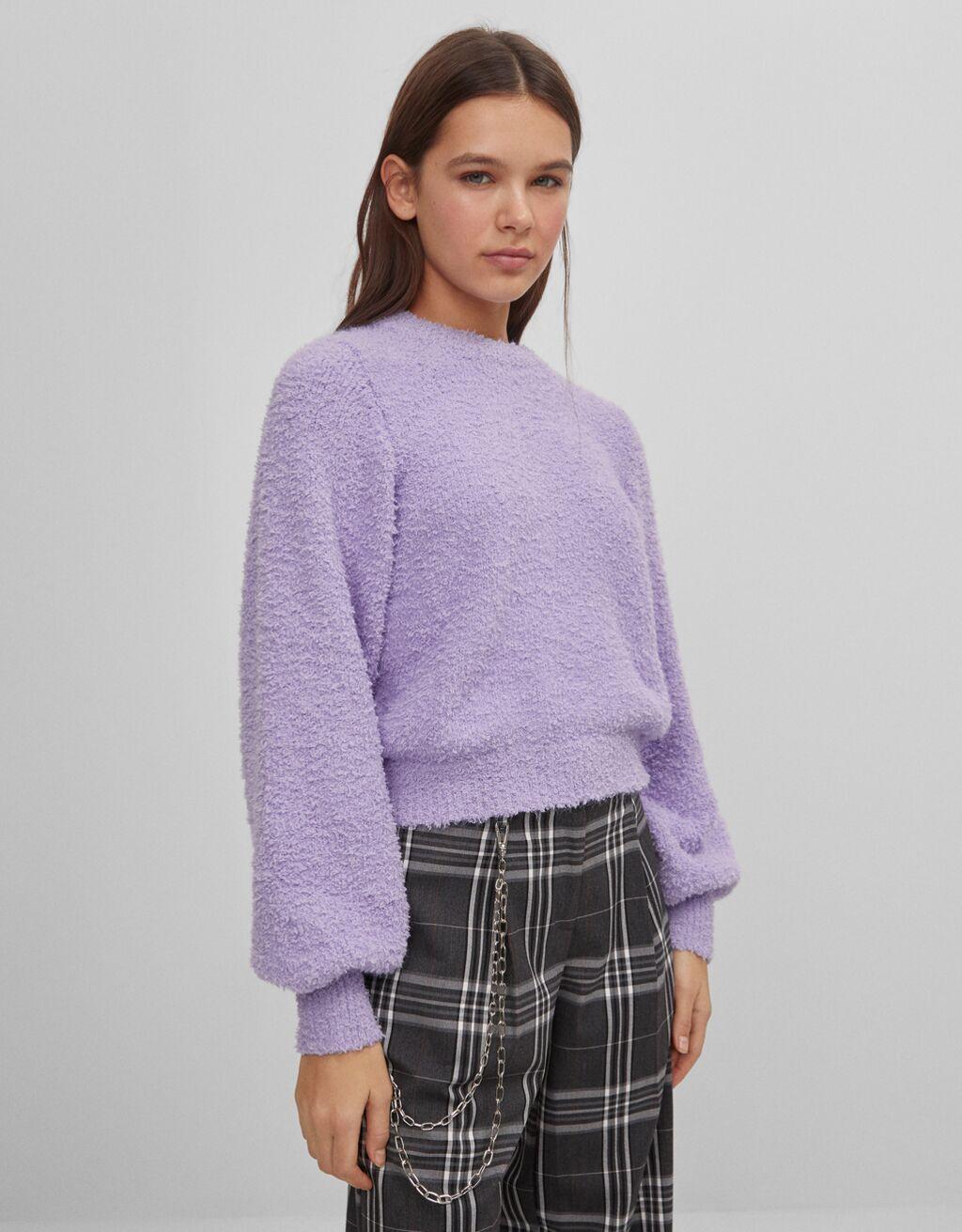 Hair effect sweater