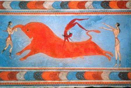 Fresco del Palacio de Cnossos