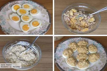 Huevos Rellenos Paso A Paso
