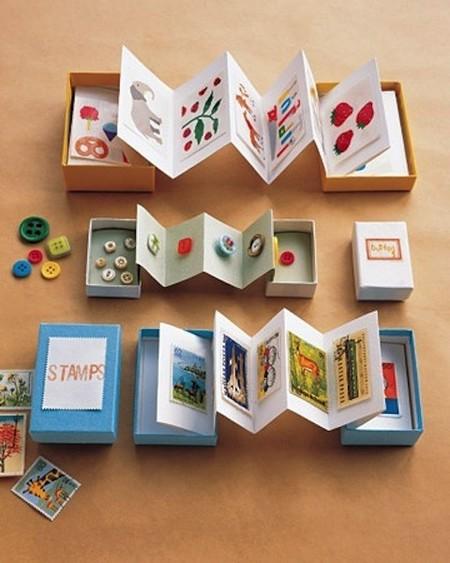 Convierte una caja y una hoja de cartulina en el cofre de tesoros de tu hijo