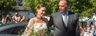Así ha sido el vestido de novia de Claudia Osborne