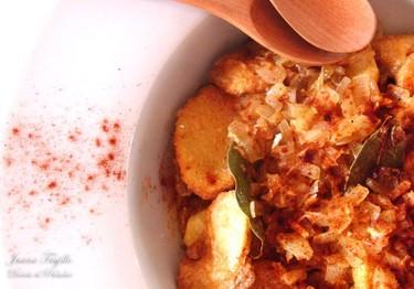 Receta de patatas en escabeche
